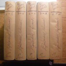 Libros antiguos: EPISODIOS NACIONALES DE B. PEREZ GALDOS 1A SERIE COMPLETA .EDICIONES ANTIGUAS. Lote 48441615