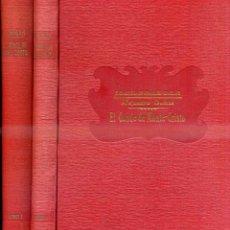 Libros antiguos: ALEJANDRO DUMAS : EL CONDE DE MONTE CRISTO - DOS TOMOS (SOPENA C. 1930). Lote 48919579