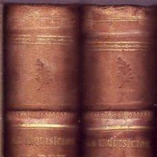 Libros antiguos: LA INQUISICIÓN, EL REY Y EL NUEVO MUNDO. NOVELA HISTÓRICA. FLORENCIO LUIS PARREÑO, 1862. Lote 49020243