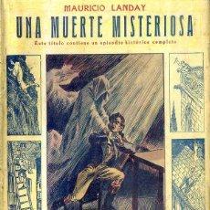Libros antiguos: LANDAY : CAROT CORTA CABEZAS - UNA MUERTE MISTERIOSA (BAUZÁ). Lote 49246363