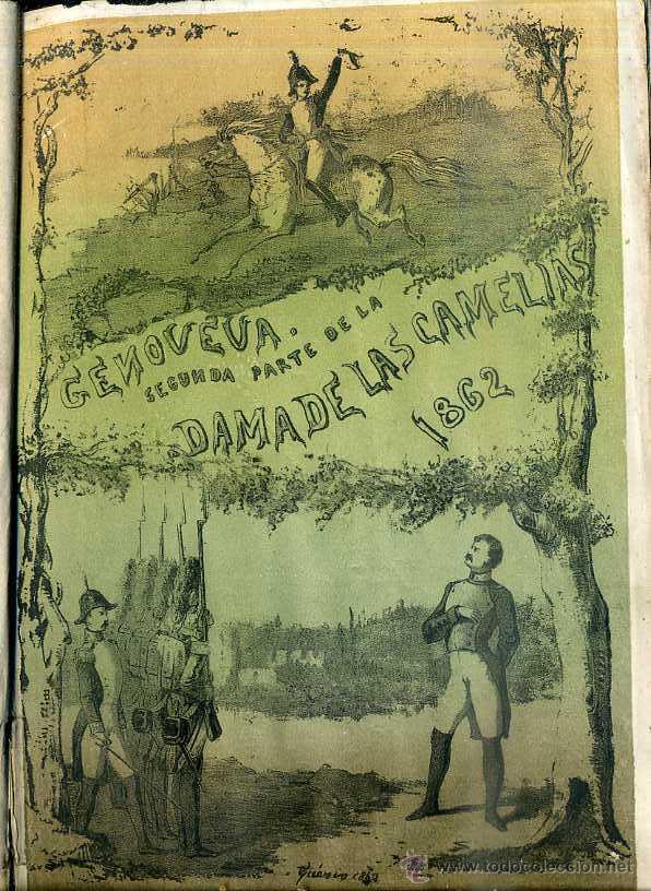 ALEJANDRO DUMAS HIJO : GENOVEVA, SEGUNDA PARTE DE LA DAMA DE LAS CAMELIAS (1864) (Libros antiguos (hasta 1936), raros y curiosos - Literatura - Narrativa - Novela Histórica)