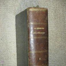 Libros antiguos: LA REDENCIÓN DEL OBRERO, DE LUIS DEL VAL, ILUSTRACIONES CROMOLITOGRÁFICAS DE VICENTE GINÉ, TOMO I . Lote 50053180