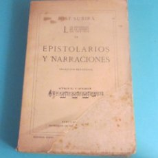 Libros antiguos: LOS ESPAÑOLES EN LA GUERRA DE 1914-1918. TOMO III. EPISTOLARIOS Y NARRACIONES.DEDICADO POR J. SUBIRÁ. Lote 50164331