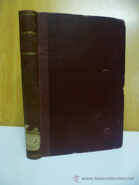 DE CARTAGO A SAGUNTO, BENITO PEREZ GALDOS - 1911 (Libros antiguos (hasta 1936), raros y curiosos - Literatura - Narrativa - Novela Histórica)