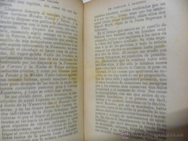 Libros antiguos: DE CARTAGO A SAGUNTO, BENITO PEREZ GALDOS - 1911 - Foto 6 - 50259240