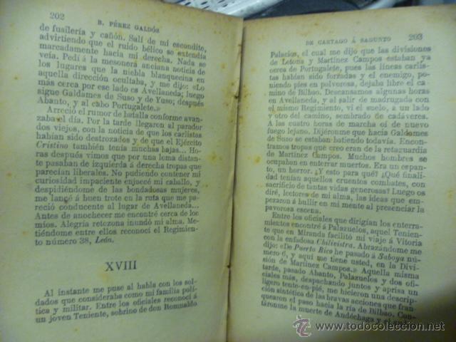 Libros antiguos: DE CARTAGO A SAGUNTO, BENITO PEREZ GALDOS - 1911 - Foto 8 - 50259240