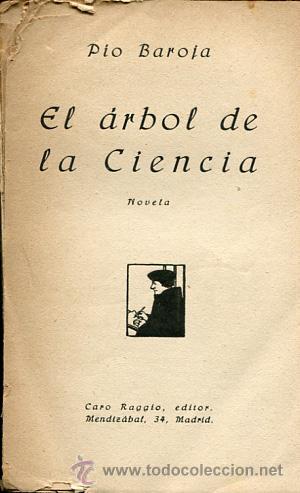 1922 p o baroja el rbol de la ciencia comprar libros for El arbol de la ciencia