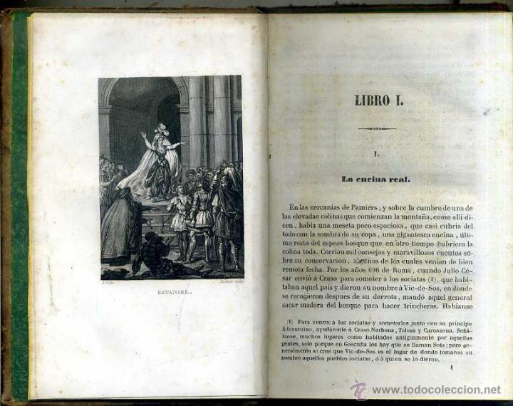 Libros antiguos: SOULIÉ : SATANIEL (OLIVERES, 1843) - Foto 2 - 51542836
