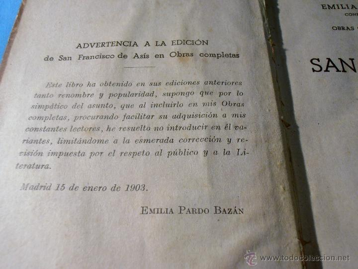 Libros antiguos: EMILIA PARDO BAZAN, OBRAS COMPLETAS, TOMO XXVII - Foto 5 - 52870874