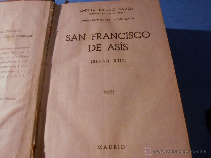 Libros antiguos: EMILIA PARDO BAZAN, OBRAS COMPLETAS, TOMO XXVII - Foto 6 - 52870874