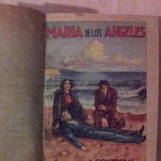 Libros antiguos: MARIA DE LOS ANGELES - NOVELA COMPLETA 2 TOMOS POR ANTONIO CONTRERAS AÑOS 30. Lote 52889824