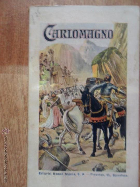 CARLOMAGNO, DE AZAR Y AZPE, ED. SOPENA, 1934 (Libros antiguos (hasta 1936), raros y curiosos - Literatura - Narrativa - Novela Histórica)
