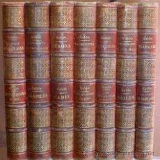 Libros antiguos: BENITO PEREZ GALDÓS: EPISODIOS NACIONALES (7 VOLS, 14 TÍTULOS) ADMON. LA GUIRNALDA. ED. ILUSTRADA. Lote 53367669