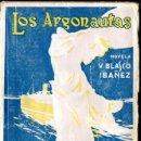 Libros antiguos: BLASCO IBÁÑEZ : LOS ARGONAUTAS (PROMETEO, 1916) PRIMERA EDICIÓN. Lote 53409900