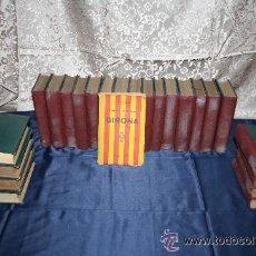 Libros antiguos: 1745- EPISODIOS NACIONALES B. PÉREZ GALDÓS OBRA COMPLETA 46 TOMOS (2 TOMOS POR LIBRO) 1906/25. Lote 30077780