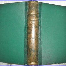 AÑO 1890. EL REGIMIENTO. INENCONTRABLE LIBRO ESPAÑOL DEL SIG. XIX. BIBLIOTECA: EL LIBERAL
