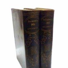Libros antiguos: EL CONDE DE FABRAQUER, LOS MISTERIOS DEL ESCORIAL HISTORIA LEYENDAS TRADICIONES TOMO I Y TOMO II. Lote 53720422