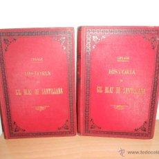 Libros antiguos: HISTORIA DE GIL BLAS DE SANTILLANA 2 TOMOS-DR. LESAGE. Lote 53962386
