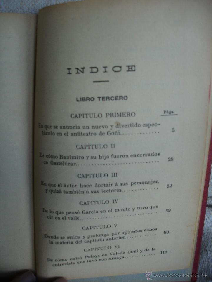 Libros antiguos: Amaya o los vascos en el siglo VIII - Foto 4 - 54498539