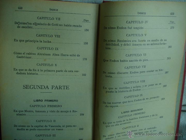 Libros antiguos: Amaya o los vascos en el siglo VIII - Foto 5 - 54498539