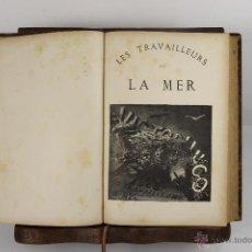 Libros antiguos: 5544- LES TRAVAILLEURS DE LA MER. V. HUGO. IMP. MAISON QUANTIN. 1866.. Lote 46037063
