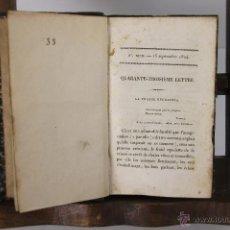 Libros antiguos: 5302- LES HERMITES EN LIBERTE. 1824. EDIT. CHEZ LADVOCAT. IDIOMA FRANCES.. Lote 45566676