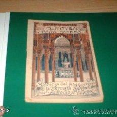 Libros antiguos: LIBRO DE 1916.LA NOVELA PARA TODOS. HISTORIA DEL ABENCERRAJE Y LA HERMOSA TARIFA. Lote 55177297