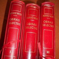 Libros antiguos: MEJORES OBRAS DE MORRIS WEST. Lote 56053143