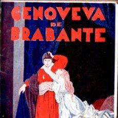 Libros antiguos: MARÍA DEL AMPARO BORRÁS : GENOVEVA DE BRABANTE (GASSÓ, S.F.) ILUSTRACIONES DE OCHOA. Lote 56269797