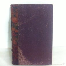 Libros antiguos: ANTIGUA NOVELA BLASCO IBÁÑEZ MARE NOSTRUM 1916. Lote 56657502
