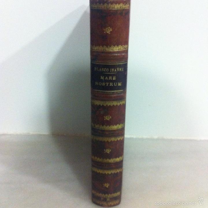 Libros antiguos: Antigua novela Blasco Ibáñez MARE NOSTRUM 1916 - Foto 2 - 56657502