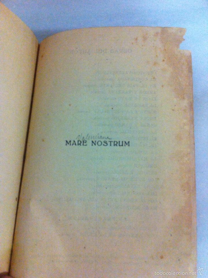 Libros antiguos: Antigua novela Blasco Ibáñez MARE NOSTRUM 1916 - Foto 6 - 56657502