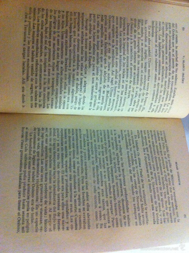 Libros antiguos: Antigua novela Blasco Ibáñez MARE NOSTRUM 1916 - Foto 10 - 56657502