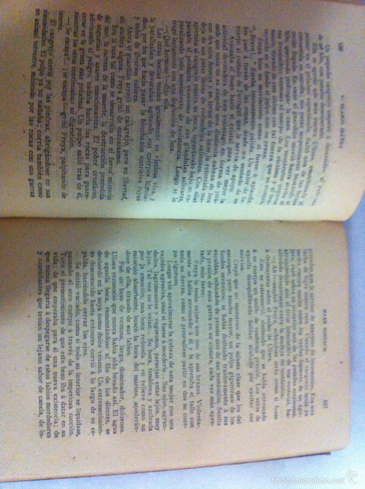 Libros antiguos: Antigua novela Blasco Ibáñez MARE NOSTRUM 1916 - Foto 11 - 56657502