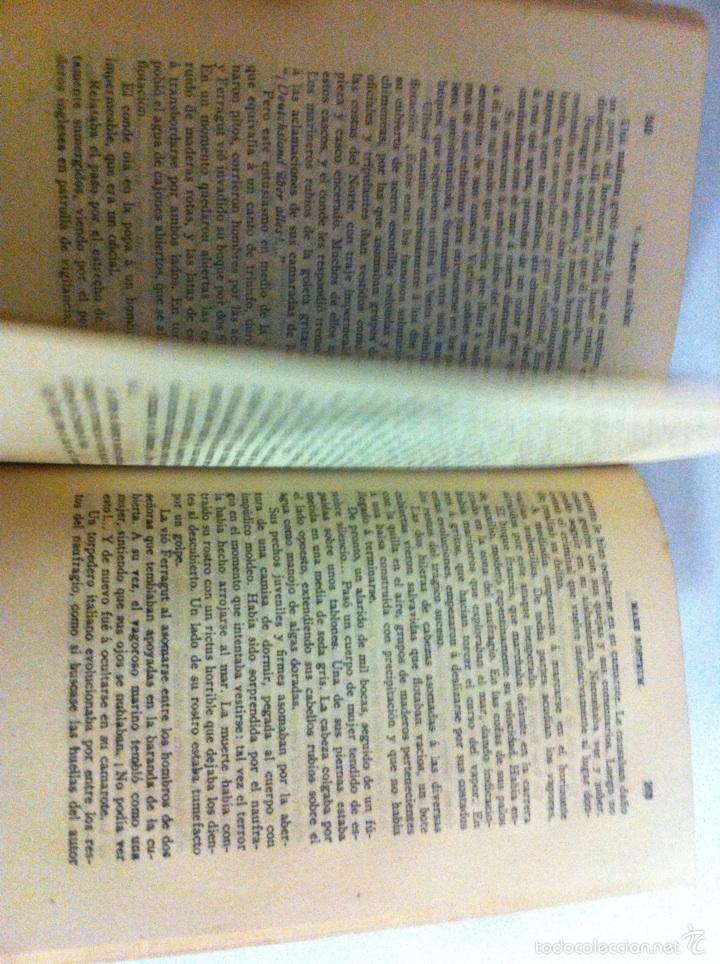 Libros antiguos: Antigua novela Blasco Ibáñez MARE NOSTRUM 1916 - Foto 12 - 56657502