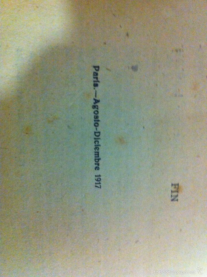 Libros antiguos: Antigua novela Blasco Ibáñez MARE NOSTRUM 1916 - Foto 13 - 56657502