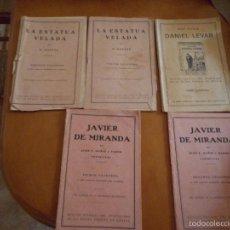 Libros antiguos: LOTE NOVELAS ANTIGUAS. Lote 56744252