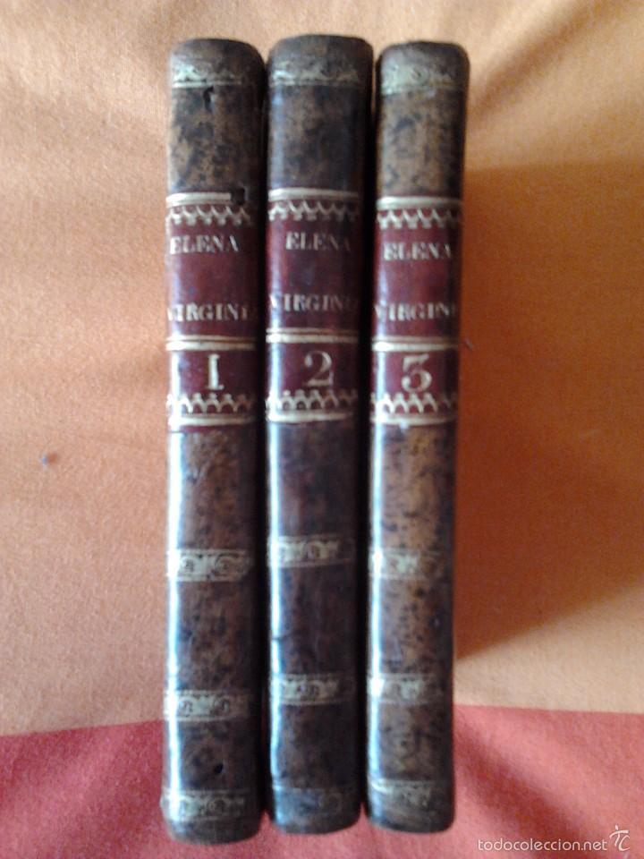 Libros antiguos: ELENA VIRGINIA O HISTORIA DE UNA JOVEN RUSA. ANONIMO (3 TOMOS) VALENCIA, DOMINGO Y MOMPIE, 1819 - Foto 2 - 56955122
