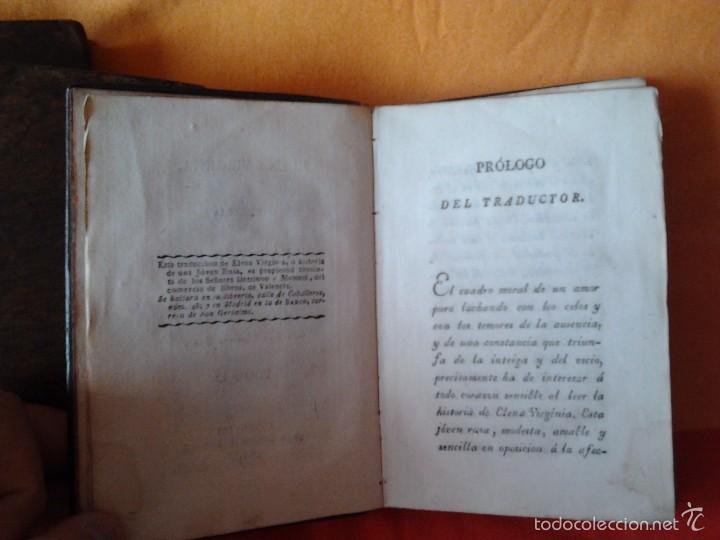 Libros antiguos: ELENA VIRGINIA O HISTORIA DE UNA JOVEN RUSA. ANONIMO (3 TOMOS) VALENCIA, DOMINGO Y MOMPIE, 1819 - Foto 4 - 56955122