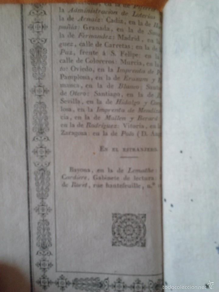 Libros antiguos: ELENA VIRGINIA O HISTORIA DE UNA JOVEN RUSA. ANONIMO (3 TOMOS) VALENCIA, DOMINGO Y MOMPIE, 1819 - Foto 8 - 56955122