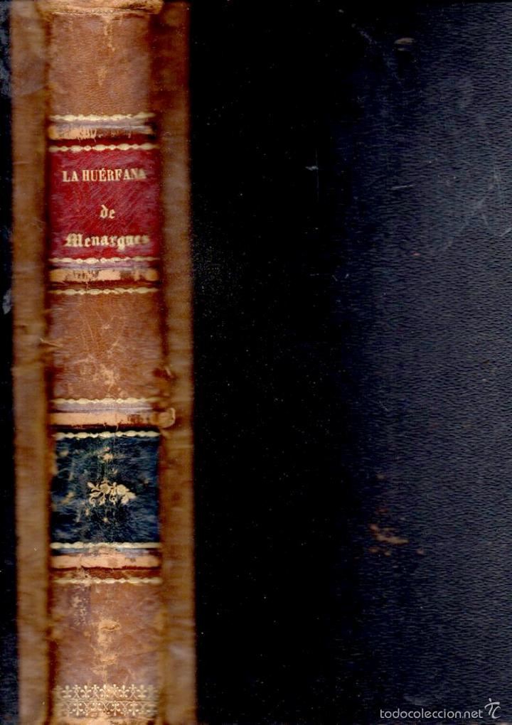 BOFARULL : BLANCA O LA HUÉRFANA DE MENARGUES (ALEU Y FUGARULL, 1883) GRAN FORMATO (Libros antiguos (hasta 1936), raros y curiosos - Literatura - Narrativa - Novela Histórica)