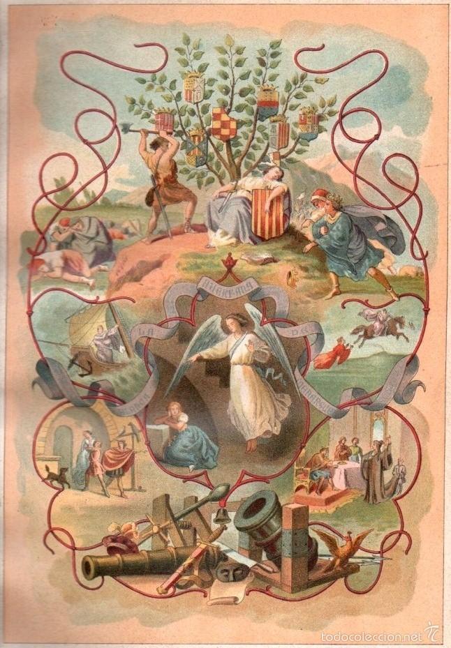 Libros antiguos: BOFARULL : BLANCA O LA HUÉRFANA DE MENARGUES (ALEU Y FUGARULL, 1883) GRAN FORMATO - Foto 3 - 57127225