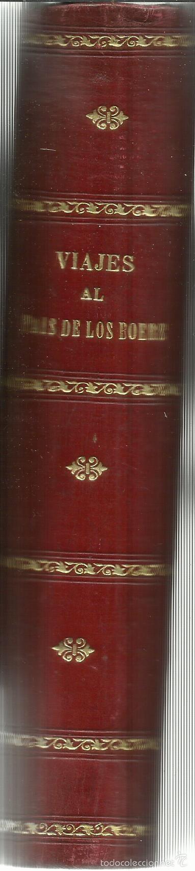 Libros antiguos: VIAJE AL PAÍS DE LOS BOERS. BON LA ROC. ROMÁN GIL EDITOR. BARCELONA. 3ª EDICIÓN. - Foto 3 - 57360006