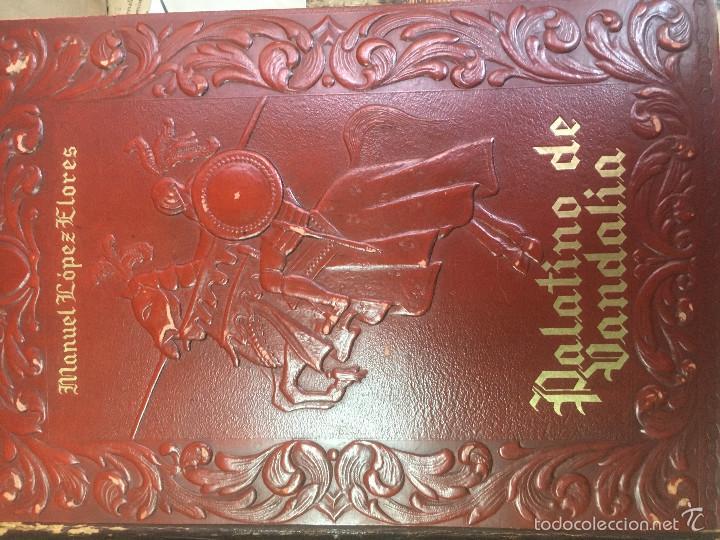 PALATINO DE VANDALIA (Libros antiguos (hasta 1936), raros y curiosos - Literatura - Narrativa - Novela Histórica)