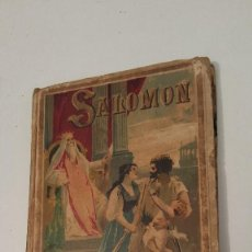 Libros antiguos: SALOMON -- SATURNINO CALLEJA. Lote 57548733