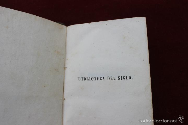 Libros antiguos: EL COLLAR DE LA REINA, POR ALEJANDRO DUMAS, TOMOS III Y IV, 1849, MADRID - Foto 2 - 57716201