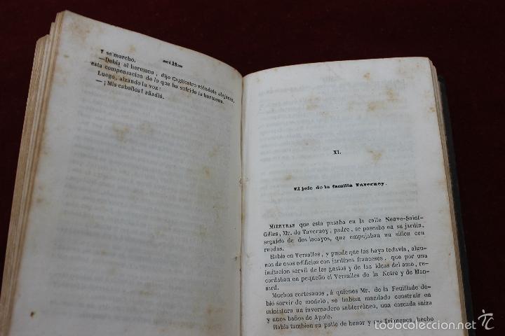 Libros antiguos: EL COLLAR DE LA REINA, POR ALEJANDRO DUMAS, TOMOS III Y IV, 1849, MADRID - Foto 3 - 57716201