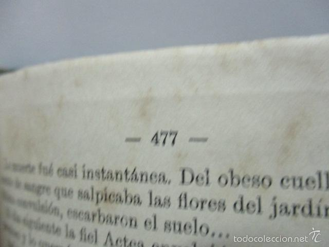 Libros antiguos: QUO VADIS - NOVELA DEL TIEMPO DE NERON - ENRIQUE SIENKIEWICZ , AÑO 1908 - Foto 8 - 57981745