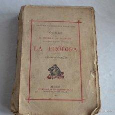 Libros antiguos: LA PRÓDIGA-UNDÉCIMA EDICIÓN. Lote 58203246