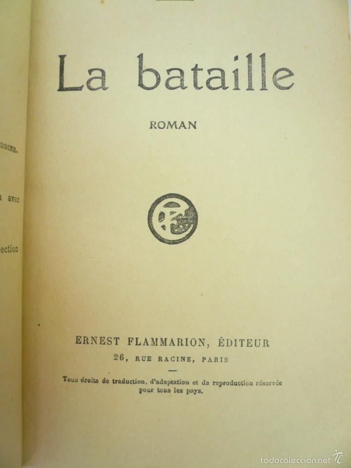 LA BATAILLE. CLAUDE FARRÉRE. EDITORIAL FLAMMARION, 1921 (Libros antiguos (hasta 1936), raros y curiosos - Literatura - Narrativa - Novela Histórica)